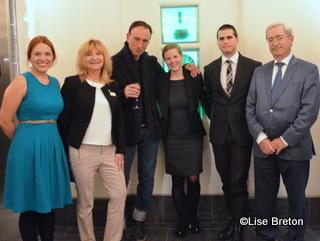 Geneviève Côté, Ingrid Lemm, Christian Chenail, Lara Émond, Olivier Leblanc et Jean-Louis Souman