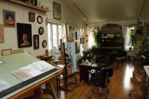 Atelier de Lyne Lafontaine