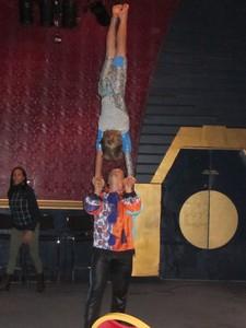 Jeunes de l'école du cirque de Québec