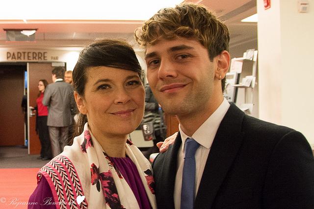 Xavier Dolan avec Anne Dorval