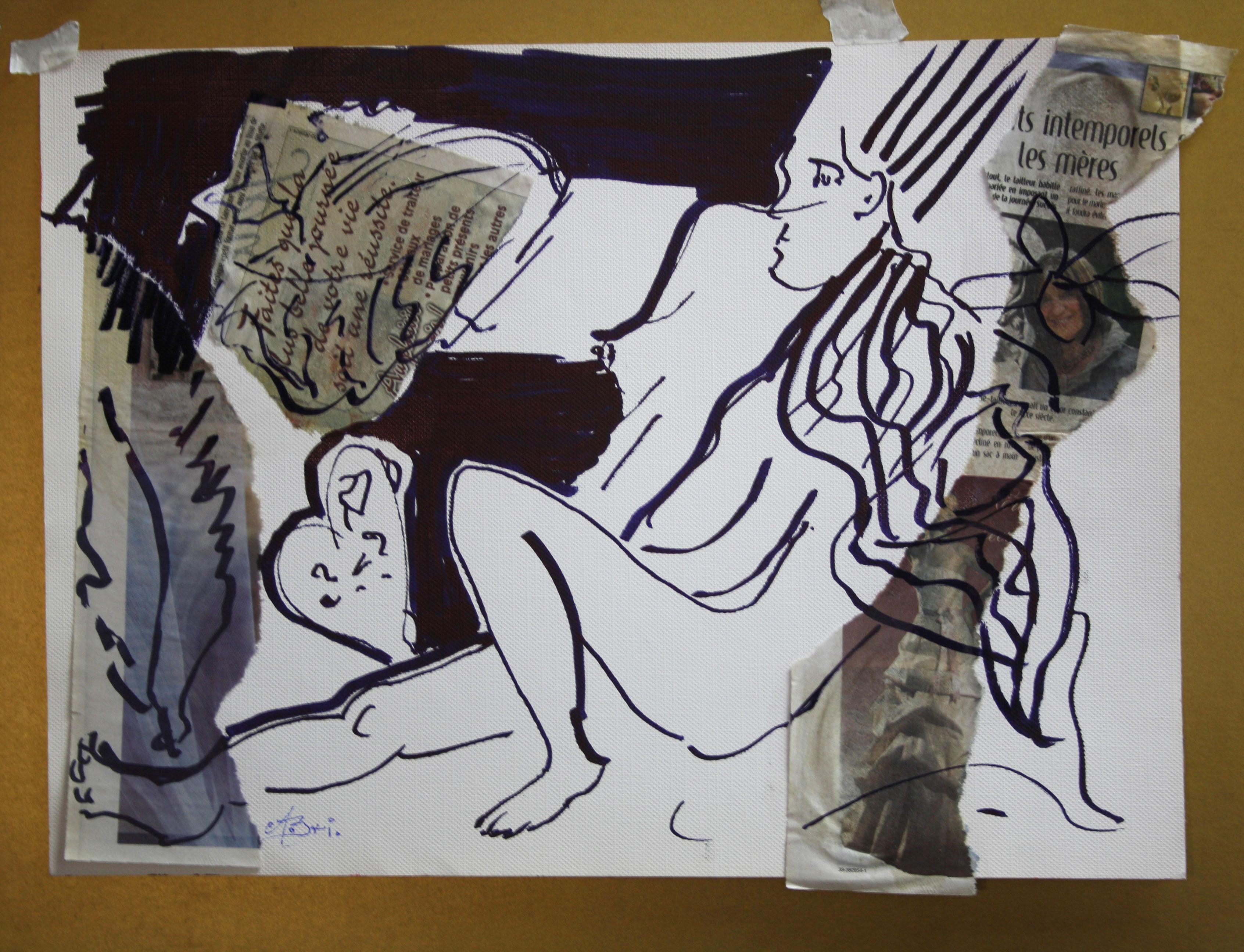 Oeuvre d'Alberte Brisson