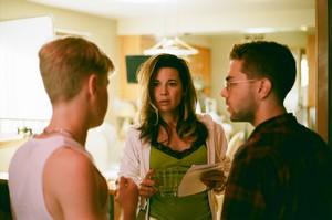 Xavier en répétition avec Antoine et Anne