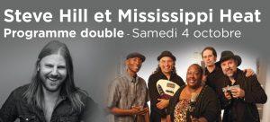 Steve Hill et Mississippi Heat