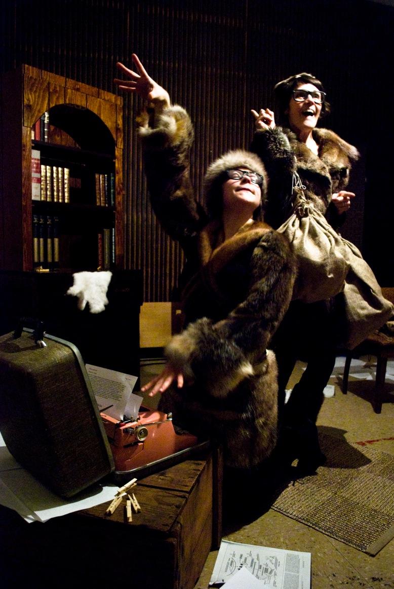 Laurence P. Lafaille et Audrey Marchand
