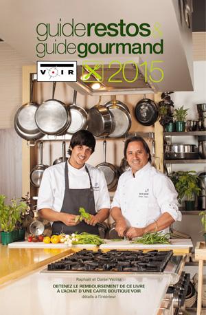Guide restos & Guide gourmand Voir 2015 © photo: courtoisie