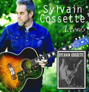 L'album Accords de Sylvain Cossette © photo: courtoisie
