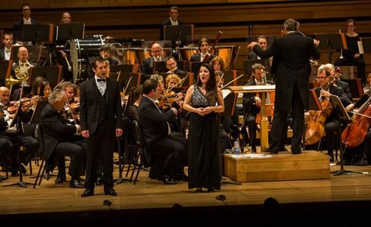 Patrick Malette et l'orchestre de l'OSM © photo: courtoisie