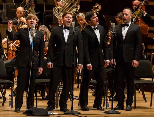 Les Trois Accords en concert à l'OSM © photo: courtoisie