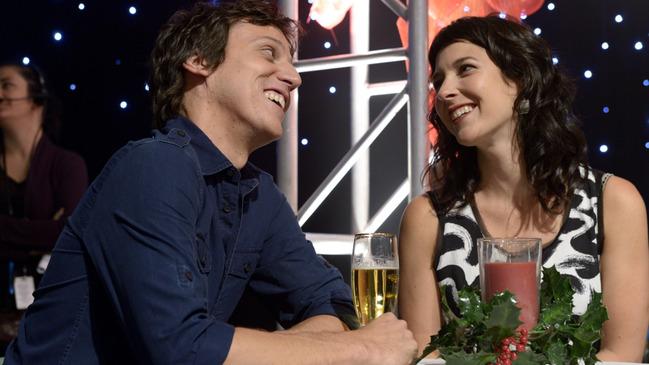 François Gadbois et Julie Daoust © photo: courtoisie ICI Radio-Canada Télé