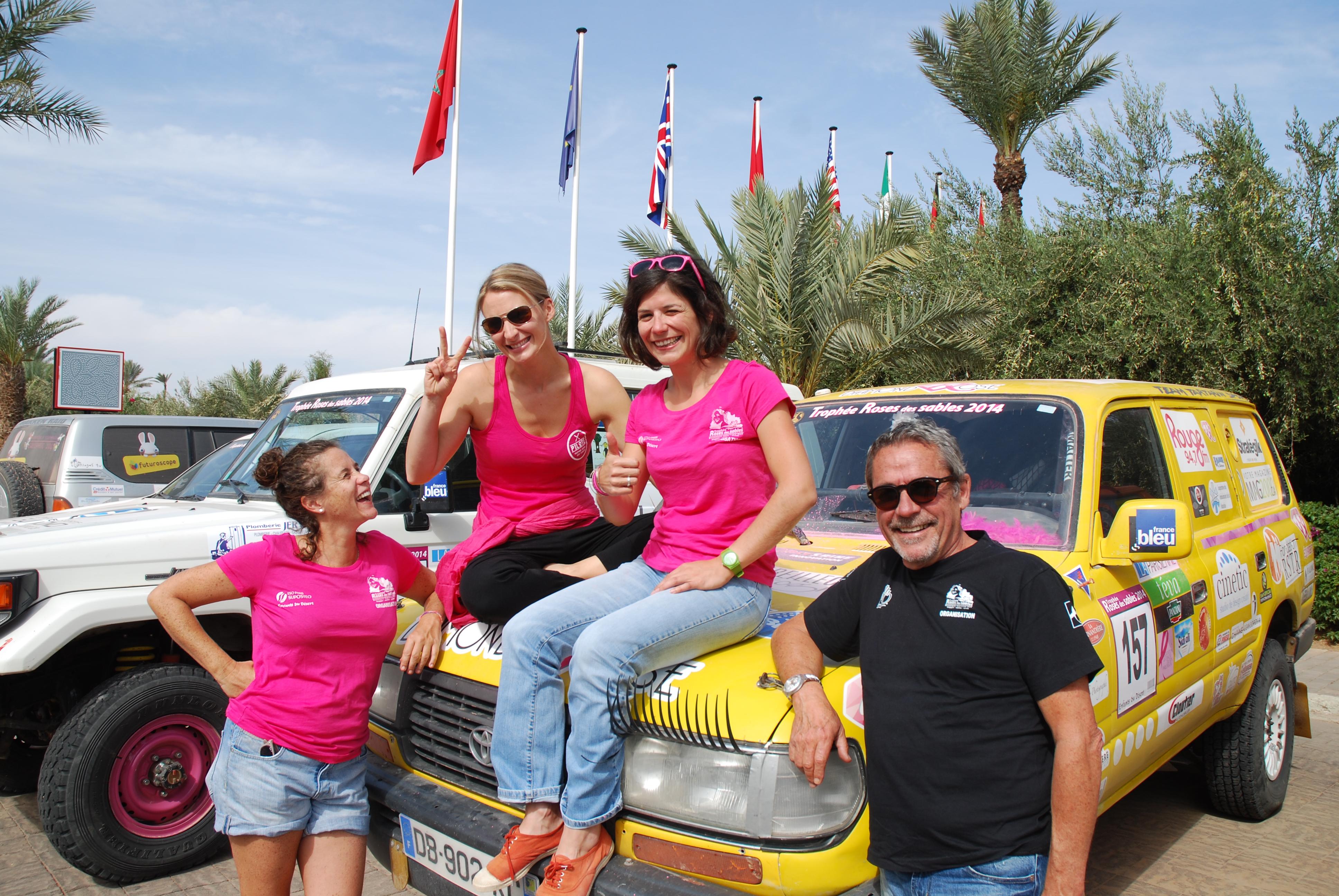 Mélanie Pilon avec Valérie Parent et Martine Banville de l'Abitibi © photo: courtoisie