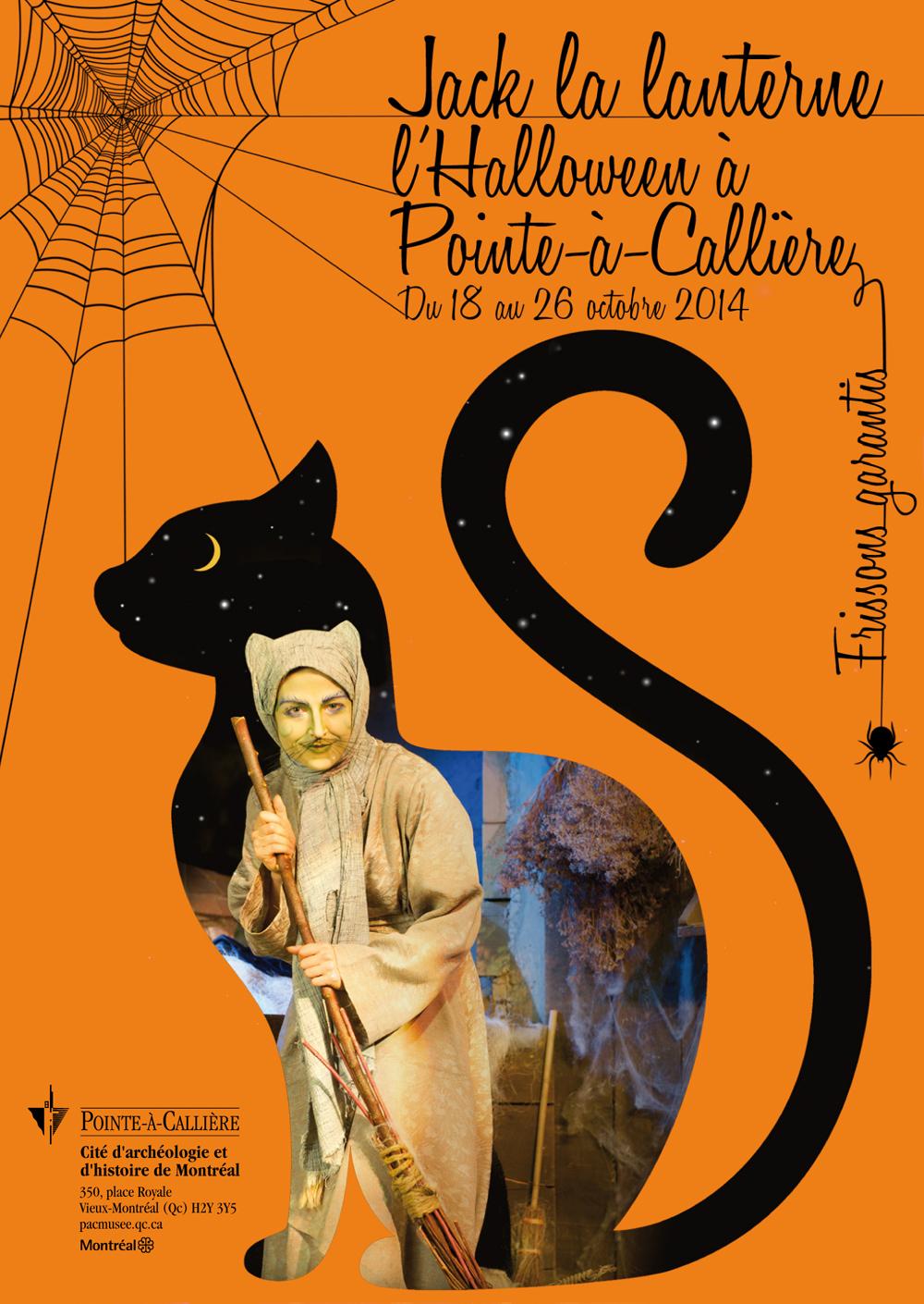 Jack la lanterne: l'Halloween à Pointe-à-Callière © photo: courtoisie