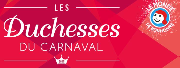 Les Duchesses du Carnaval de Québec 2015