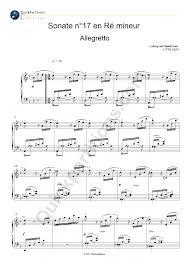 Ludwig van Beethoven, Sonate no 17 en ré mineur