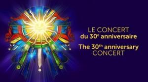 Cirque du Soleil : Le concert du 30e anniversaire