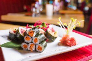 Les assiettes Sushi World  © photo: courtoisie