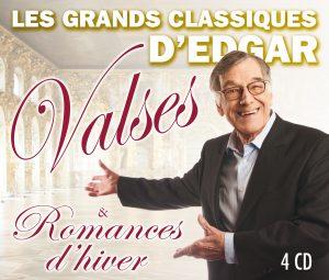 Coffret Les grands classiques d'Edgar: valses et romances d'hiver