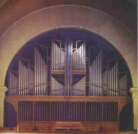 L'orgue de l'église Saints-Martyrs-Canadiens, à Québec