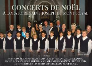 Les concerts de Noël à l'Oratoire Saint-Joseph
