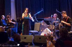 Juulie Rousseau et ses musiciens