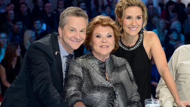 André Robitaille, Janette Bertrand, Édith Cochrane © photo: Karine Dufour