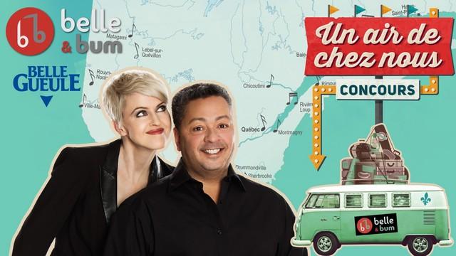 Belle et Bum lance le concours Un air de chez nous à Télé-Québec