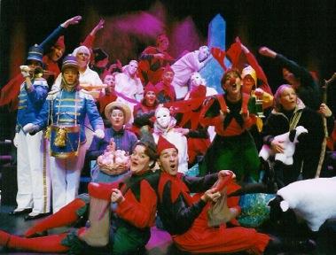 Le conte musical « Joyeux Noël » de la Troupe V'la l'Bon Vent ©photo: courtoisie
