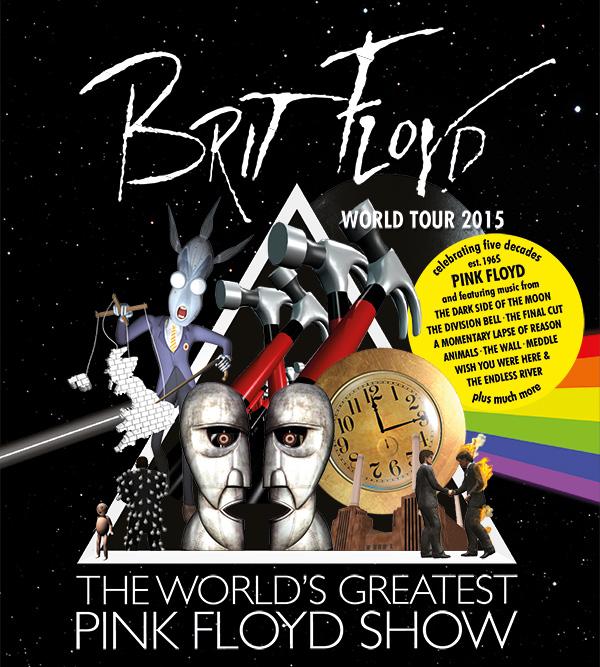 Brit Floyd le 6 avril 2015 au Grand Théâtre de Québec