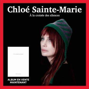 """Chloé Sainte-Marie présente son livre-disque """"À la croisée des silences"""" au Salon du livre de Montréal"""