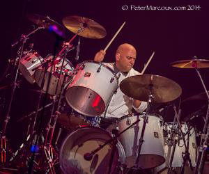 Martin Levac à la batterie