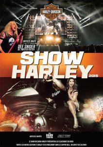 Le 36e Show Harley - Artiste invité: Dee Snider le 24 janvier 2015 au Centre Bell