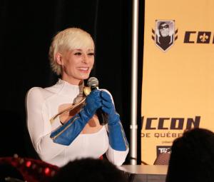 Marie-Claude Bourbonnais au Comiccon Québec 2014