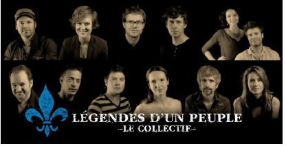 Légendes d'un peuple - Le Collectif au Grand Théâtre de Québec ©photo: courtoisie