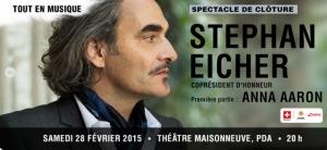 Stephan Eicher en spectacle de clôture de Montréal en lumière