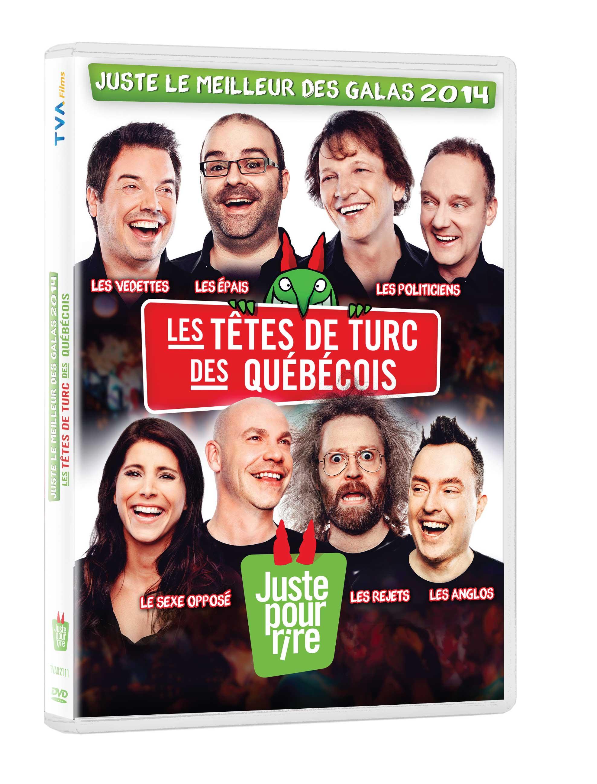 Les meilleurs moments des Galas Vidéotron Juste pour rire en DVD dès le 11 novembre