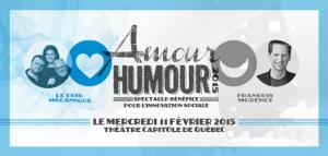 Spectacle-bénéfice Amour Humour 2015