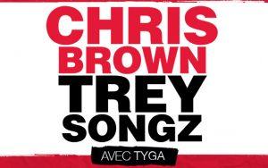 Chris Brown + Trey Songz le  24 février 2015 au Centre Bell