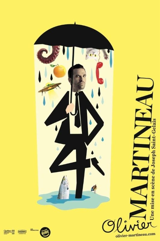 L'humoriste Olivier Martineau