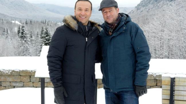 La petite sédition spéciale de Noël à Stoneham avec Joël Legendre et Dany Turcotte © photo: courtoisie
