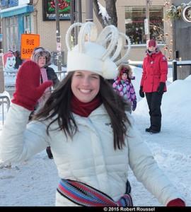 Marie-Andrée Boucher la reine du Carnaval