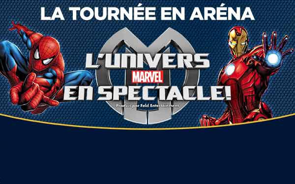 L'Univers de Marvel en spectacle