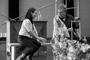 Marianne Marceau (Zerbinette) et Jack Robitaille (Géronte) © photo: Nicola-Frank Vachon