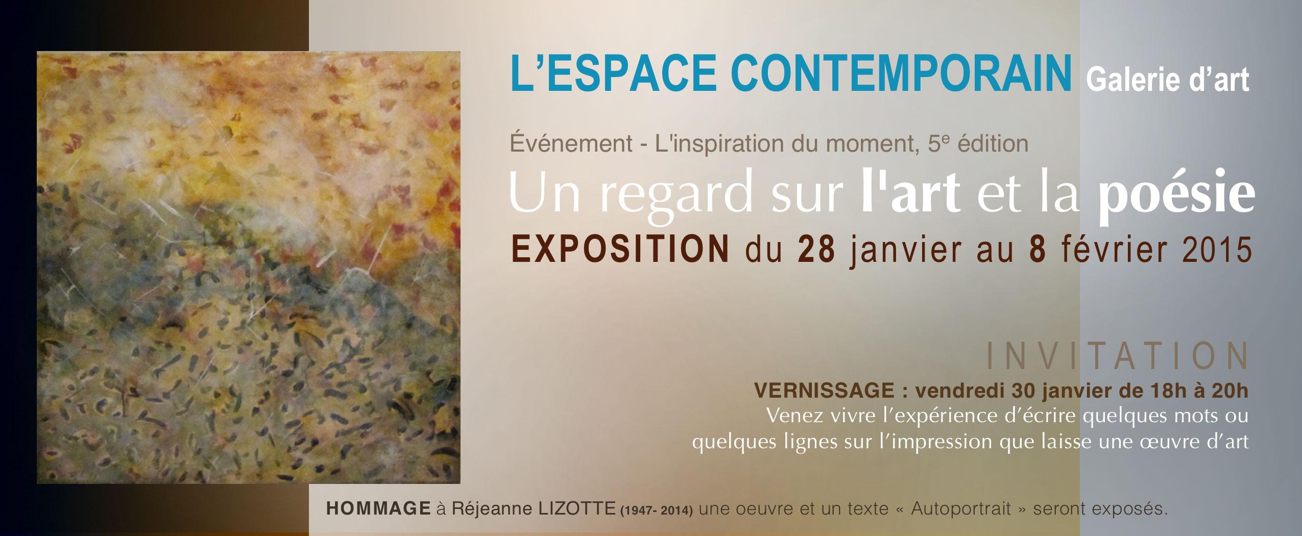 L'espase contemporain - galerie d'art de Montréal