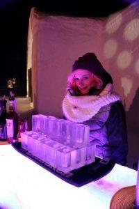 Les fameux verres de glace