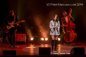 Nikki et deux musiciens au Palais Montcalm