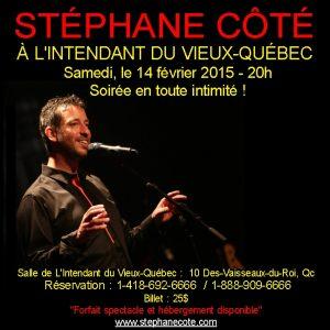Stéphane Côté -Intendant
