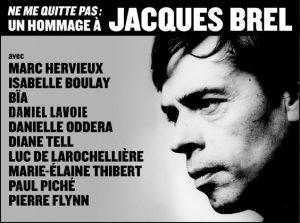 Un hommage à Jacques Brel