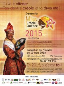 Miss Créole Québec 2015