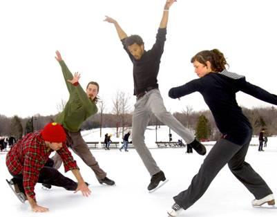 La troupe québécoise Le Patin Libre, © photo: courtoisie