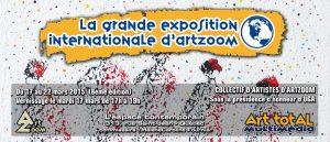La grande exposition internationale d'ArtZoom, 8ème édition