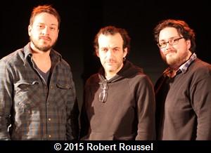 Jean-René Moisan, Martin Dubreuil et Benoit Desjardins